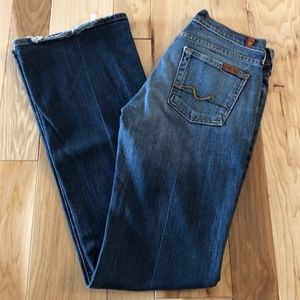 7 For All Mankind Women's Boot Cut Jeans Size 26